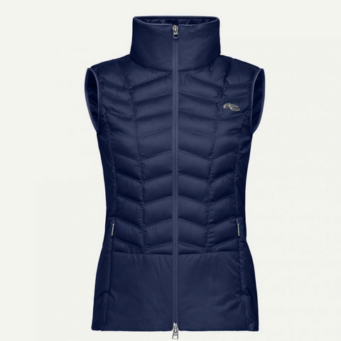 Allegra Vest - Atlanta Blue