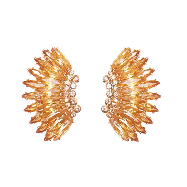 Mignonne Gavign Crystal Mini Madeline Earrings