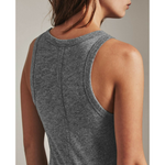 Lexi Tank - Speckled Heather Grey