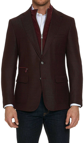 Downhill Sportcoat - Bordeaux