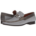 Load image into Gallery viewer, Donald J Pliner - Dacio - Silver Loafer
