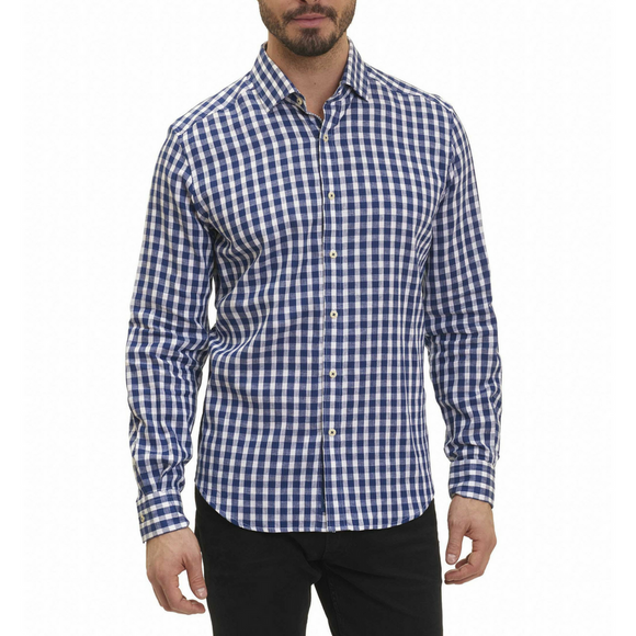 Robert Graham Blue Freddie Sport Shirt