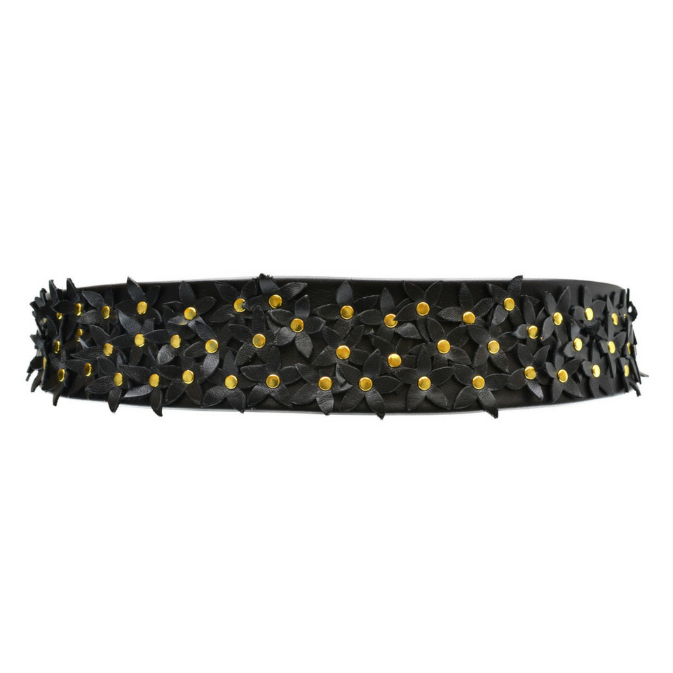 Flower Naomi Belt - Black