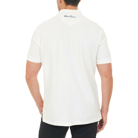 RG Back Off Polo - White