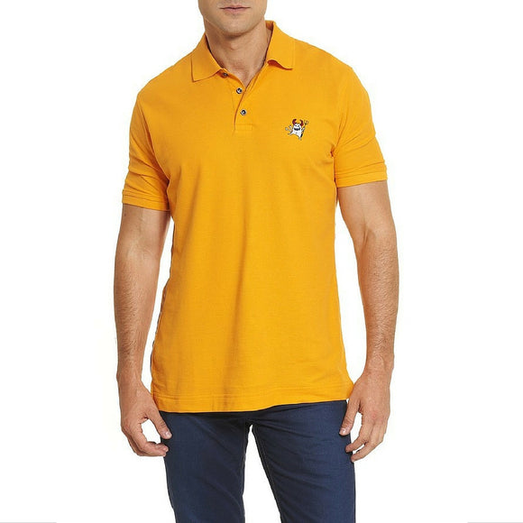 Robert Graham Tangerine Back Off Polo