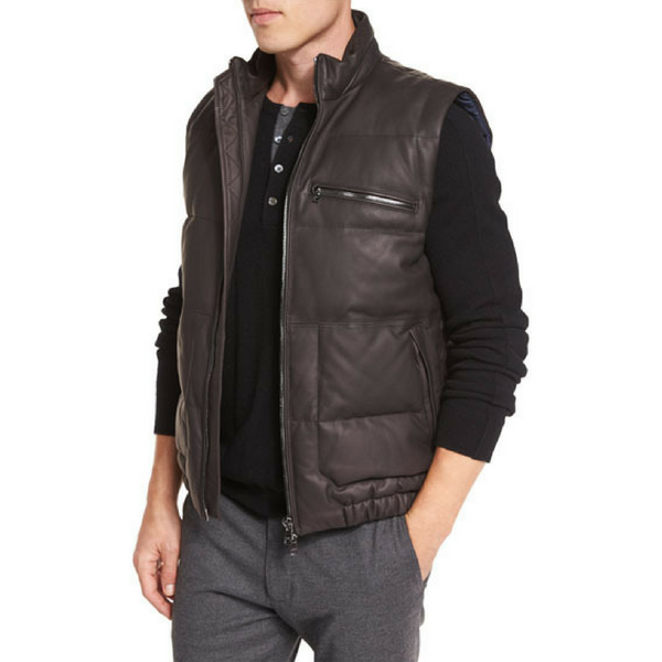 Vince Down Filled Vest - Espresso