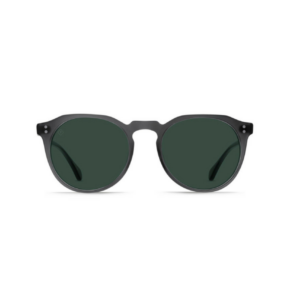 Remmy Matte Grey Crystal Sunglasses