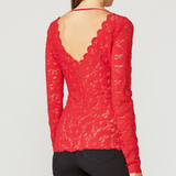 Love Sensation Top - Red