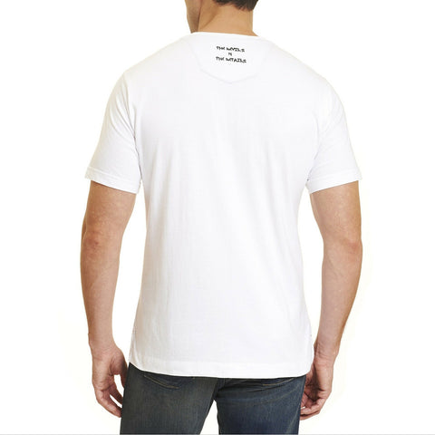 RG Large Devil Tee - White