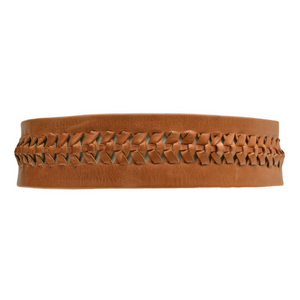 Ava Wrap Belt -  Cognac
