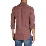 Load image into Gallery viewer, Culturata Terracotta Cashmere Feeling Gingham L/S