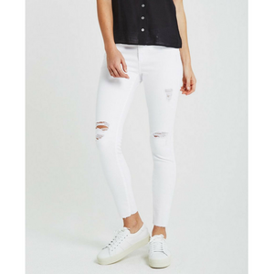 AG White The Legging Ankle Jean