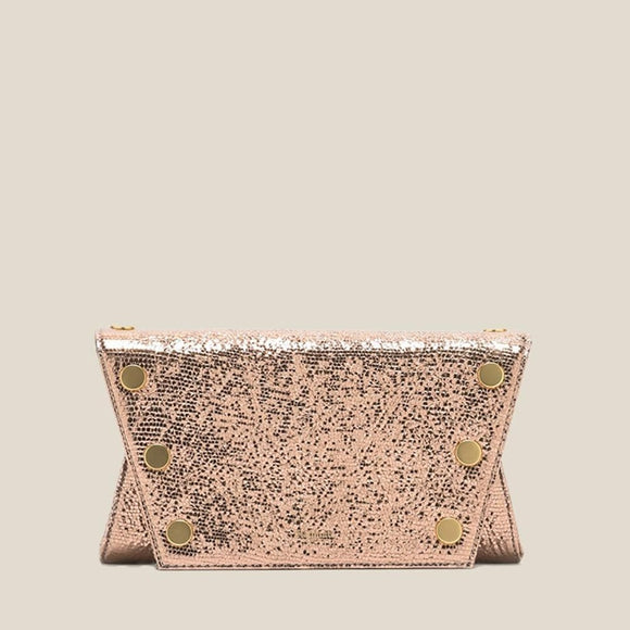 Hammitt Rose Metallic Roger Small Bag