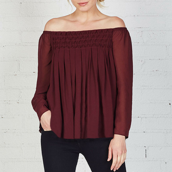 Helena Top - Berry