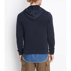 Vince - 100% Cotton Hoodie - Coastal Blue