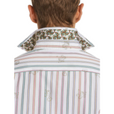 Robert Graham White Monkey See Sport Shirt