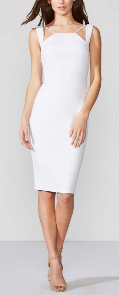 Bailey 44 - Lal Mirch Dress - Chalk