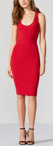 Zen Dress - Red