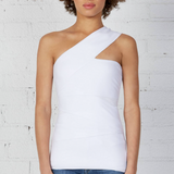 Spin Out Top - White