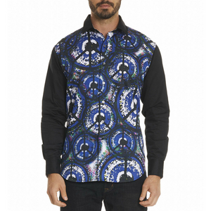 Robert Graham Multi Allover Peace Shirt