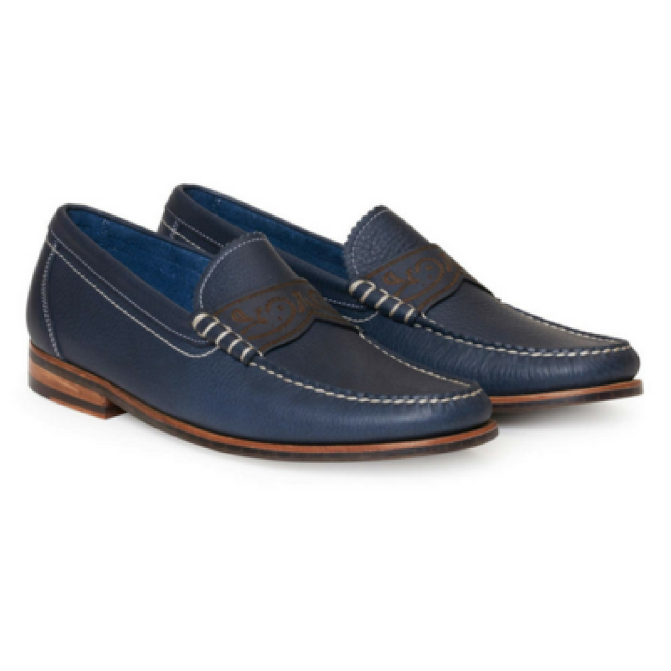 Kevin Penny Loafer - Navy