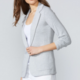 Fleece Jane Jacket - Heather Grey