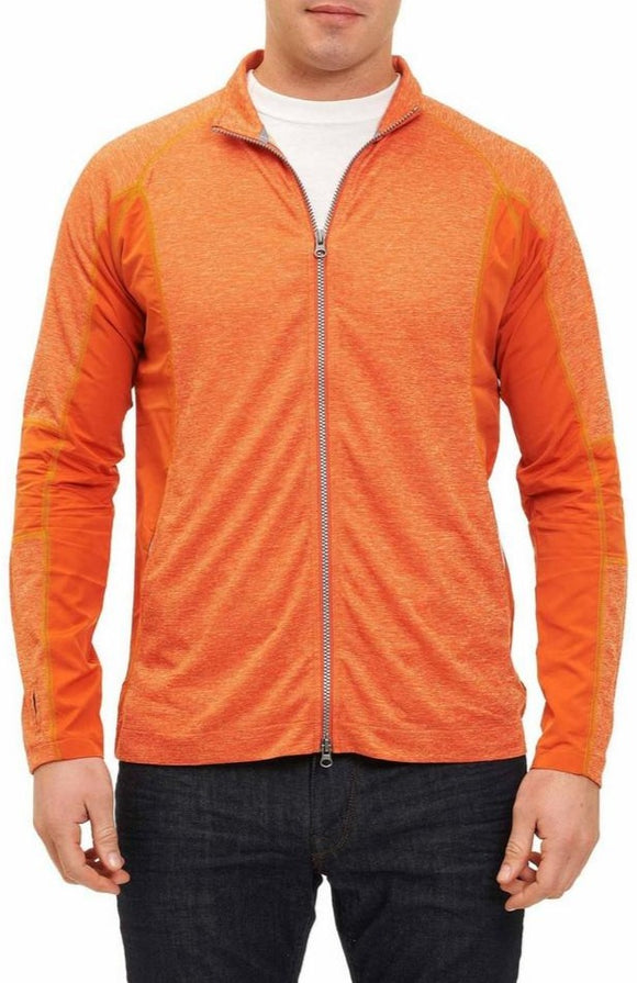 Robert Graham X Burnt Orange Zane Jacket