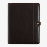 Moore & Guiles Brompton Brown Large Writing Pad