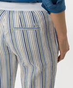 Load image into Gallery viewer, Brax - Maron Slim, Pull On, Striped Chino Pant - Blue, Khaki, White