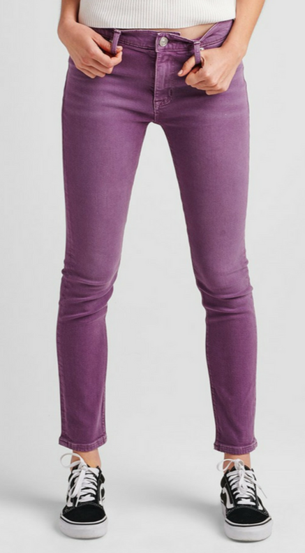 Hudson Dusted Orchid Nico Midrise Pant