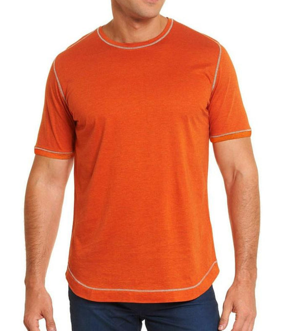 Robert Graham Orange Flagstaff Tee