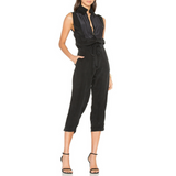 Calvin Rucker Black The Falcon Jumpsuit