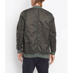 Vince - Aviator Jacket - Artichoke/Orange