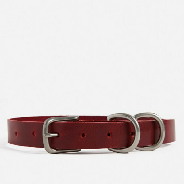 Large Dog Collar -  Red