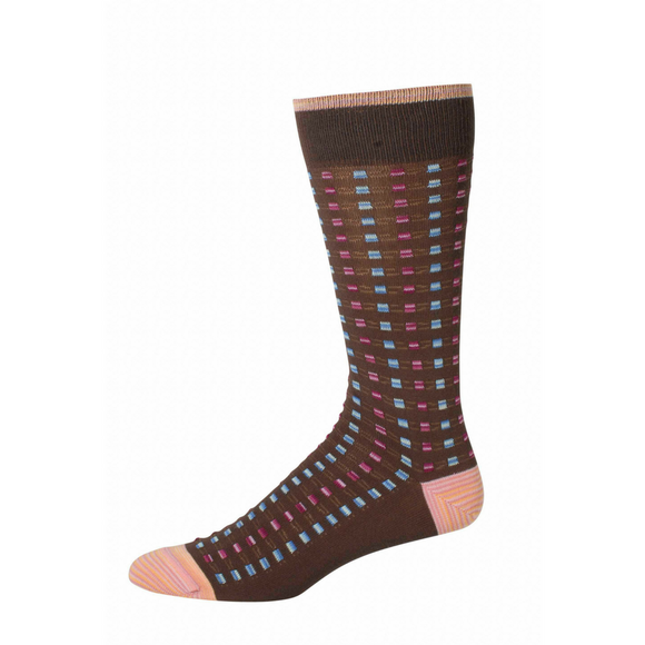 Robert Graham Brown Adyar Socks