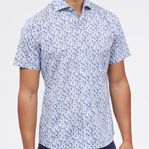 BRAX Kelly Short Sleeve Button Down Shirt