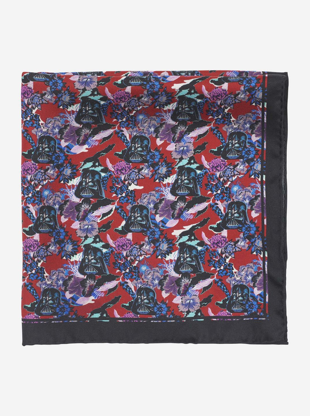 Star Wars™ | Robert Graham -  Darth Vader Print 100% Silk Scarf Pocket Square