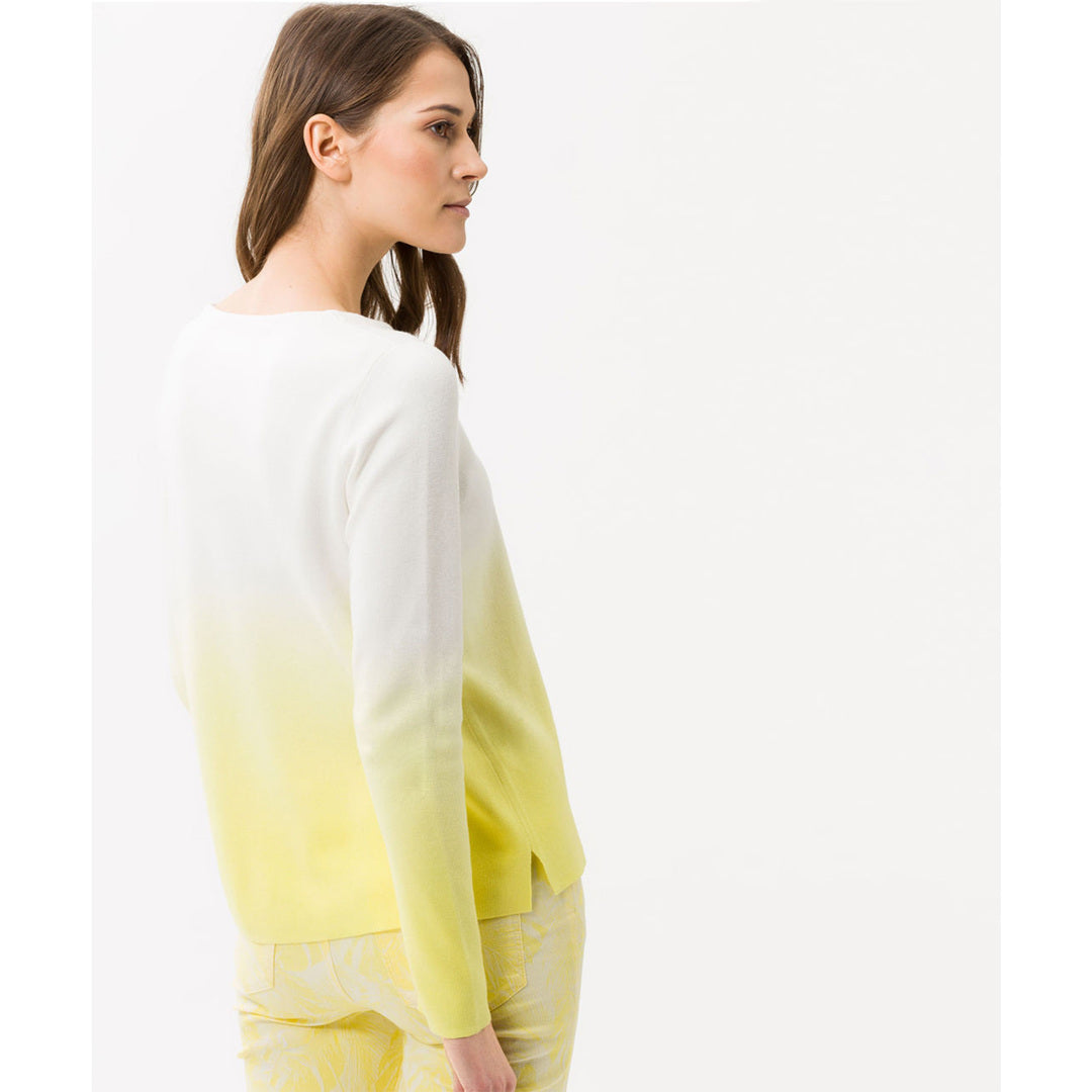 Brax - Lisa Sweater (Dip Dyed Yellow)