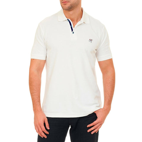 Back Off Polo - White