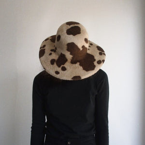 Brookes Boswell Baldwin Brown Cow Hat