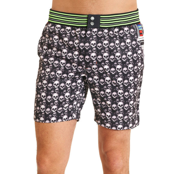Robert Graham Black Dead Wash Swimwear