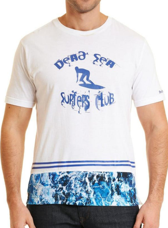 Robert Graham White Dead Sea Surfers Tee
