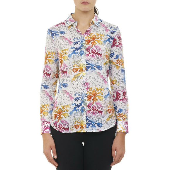 Robert Graham Multi Devi Top