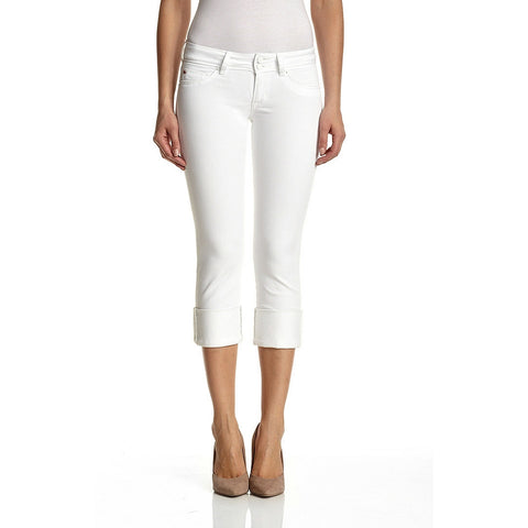 Ginny Crop - White