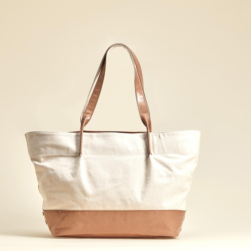 Hammitt Hermosa Beach Canvas Tote with Removable Pouch