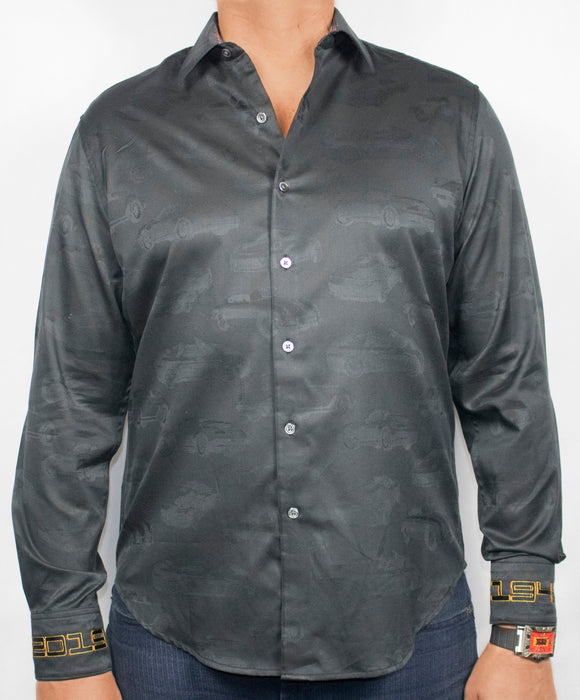 Robert Graham Black The Zog Shirt