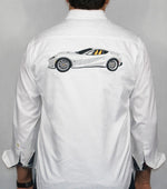 Load image into Gallery viewer, Robert Graham 2019 White The Seal Sport Shirt, made exclusively for The Club Carmel