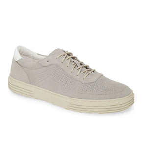 "Johnston & Murphy ""Pascal Sneaker"" in light Grey Leather, style 27-03087"