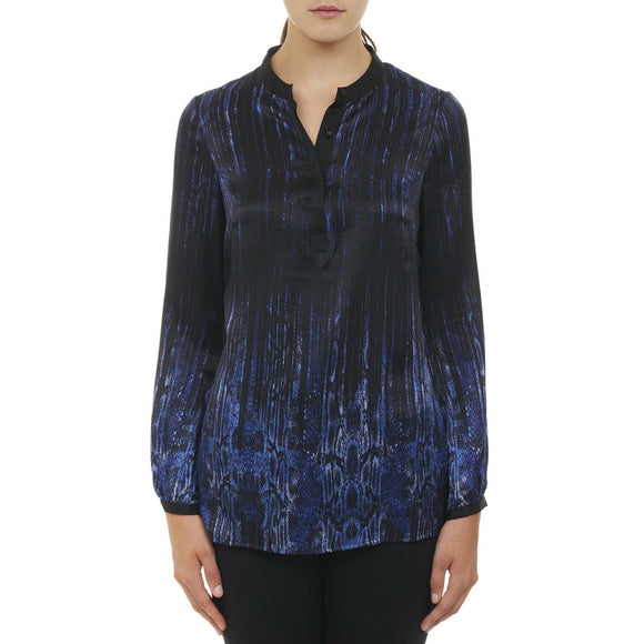 Robert Graham Blue Kemia Top