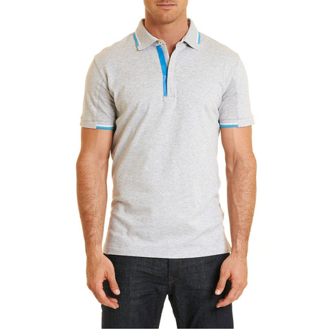 Kenric Polo - Light Heather Grey